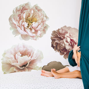 Pretty Peony Collage