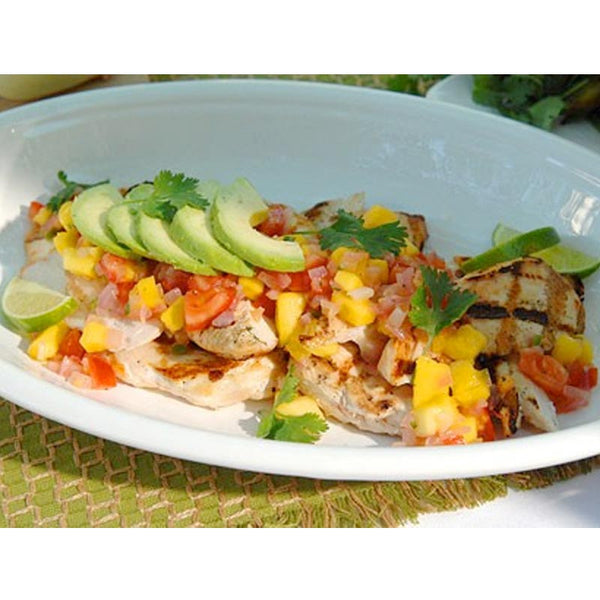 Spiced Grilled Chicken with Mango Salsa