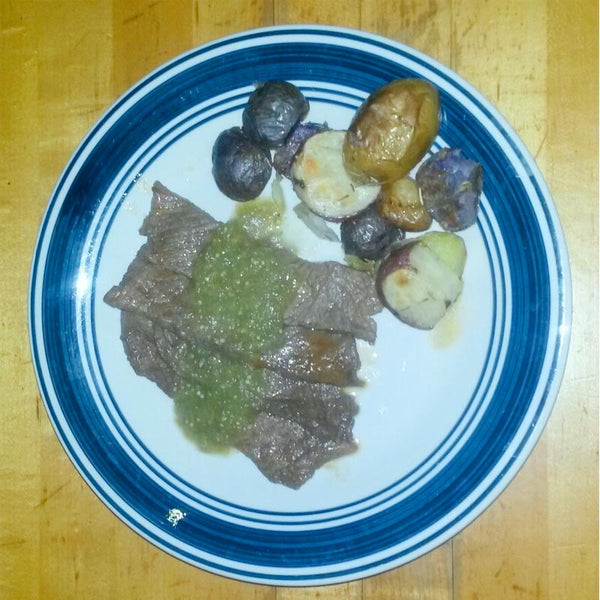 Steak Fajita Verde