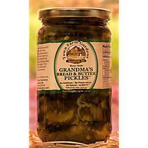 Grandma's Bread & Butter Pickles