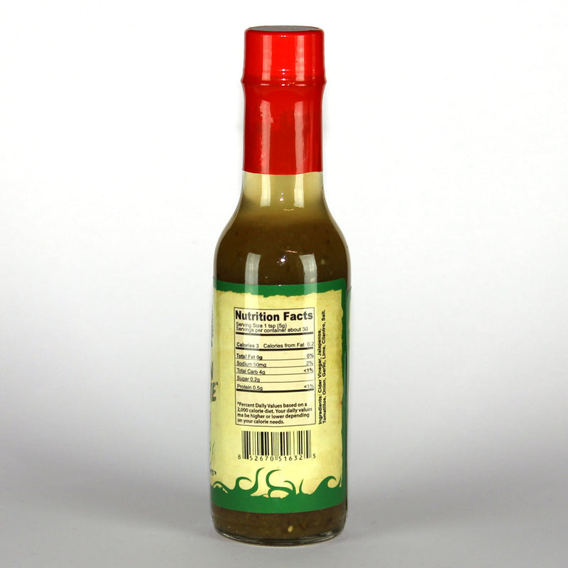 Town Farm Gardens Green Meanie Hot Sauce Nutrition
