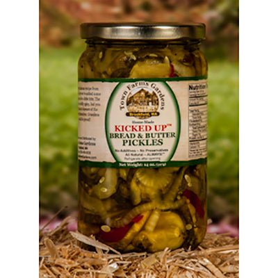 Kicked Up Bread & Butter Pickles