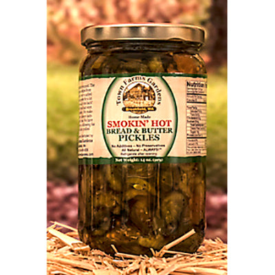 Smokin' Hot Bread and Butter Pickles