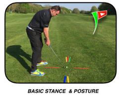 golf stance and posture