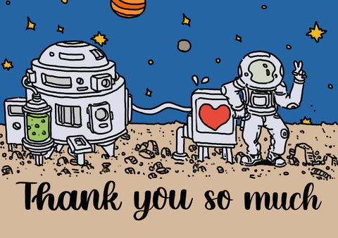Stationery Pal Thank You Card