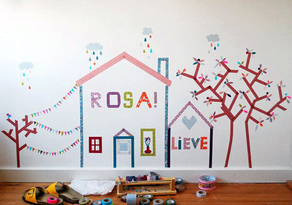Spice up kid's projects with washi tape