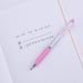 Uni-ball Signo RT Gel Ink Pen Limited Edition - Light Pink Polka Dot - 0.38 mm