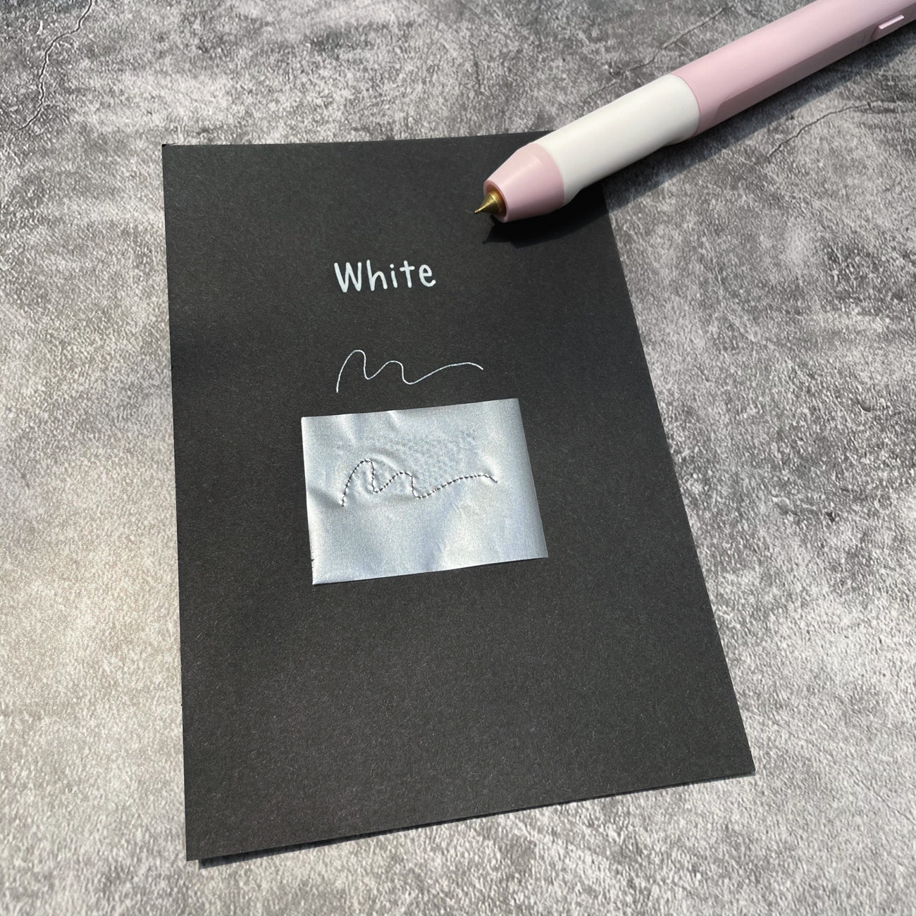 Heat Activated Foil - White