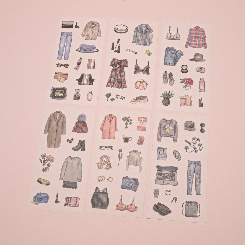 Clothes Stickers