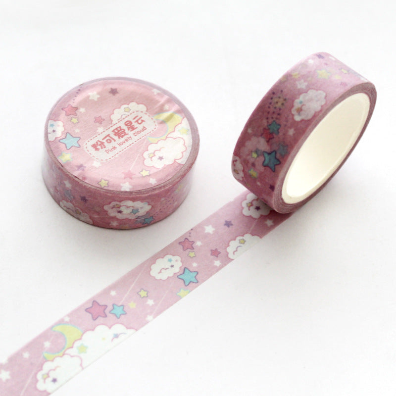 Cloud Star Moon Washi Tape