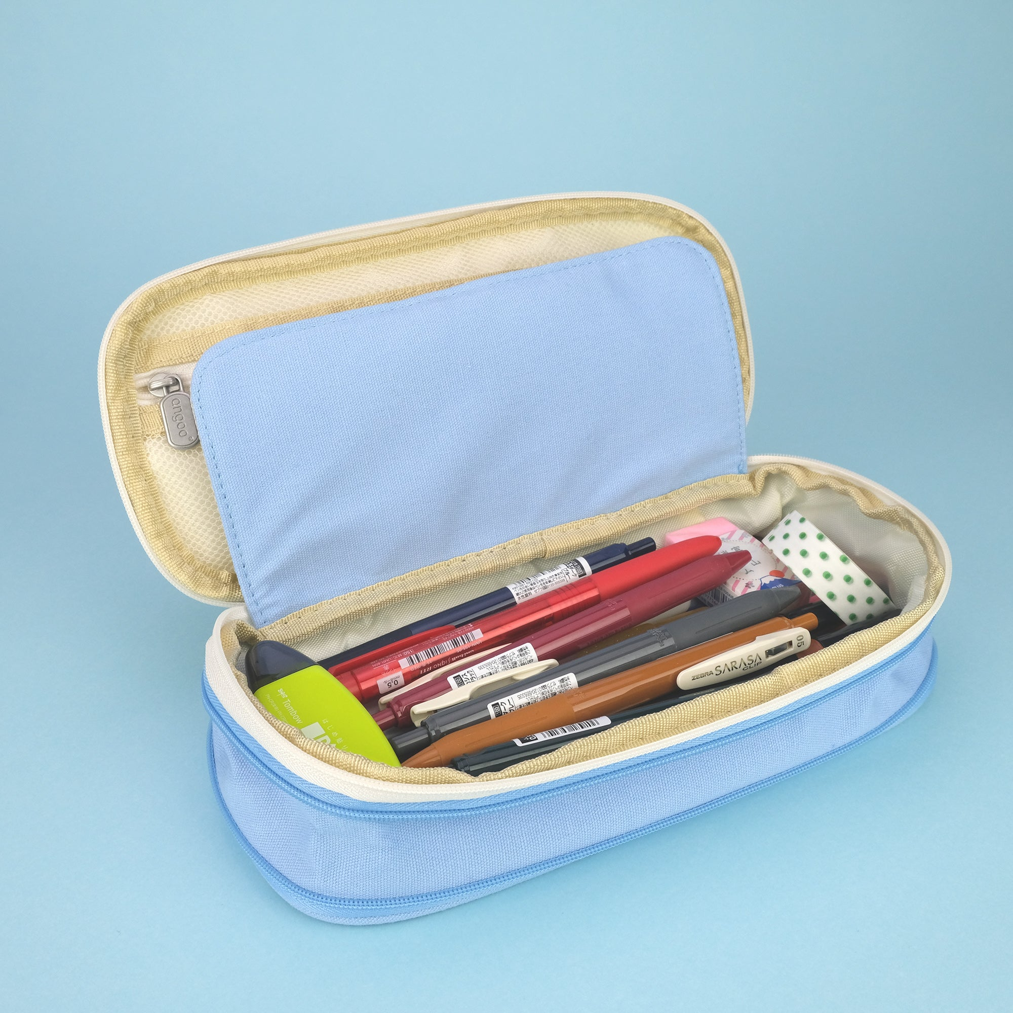 Extensible Pencil Pen Case Large Version - Sky Blue