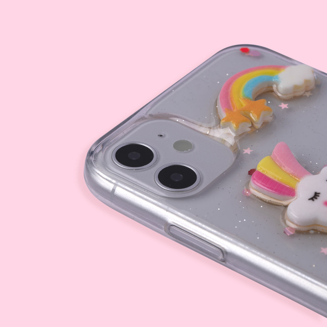 iPhone 11 Case - Unicorn - White