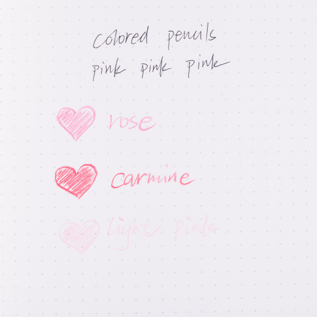 Kutsuwa Culicule Colored Pencils Twist Type - Pink Pink Pink - 3 Color Set