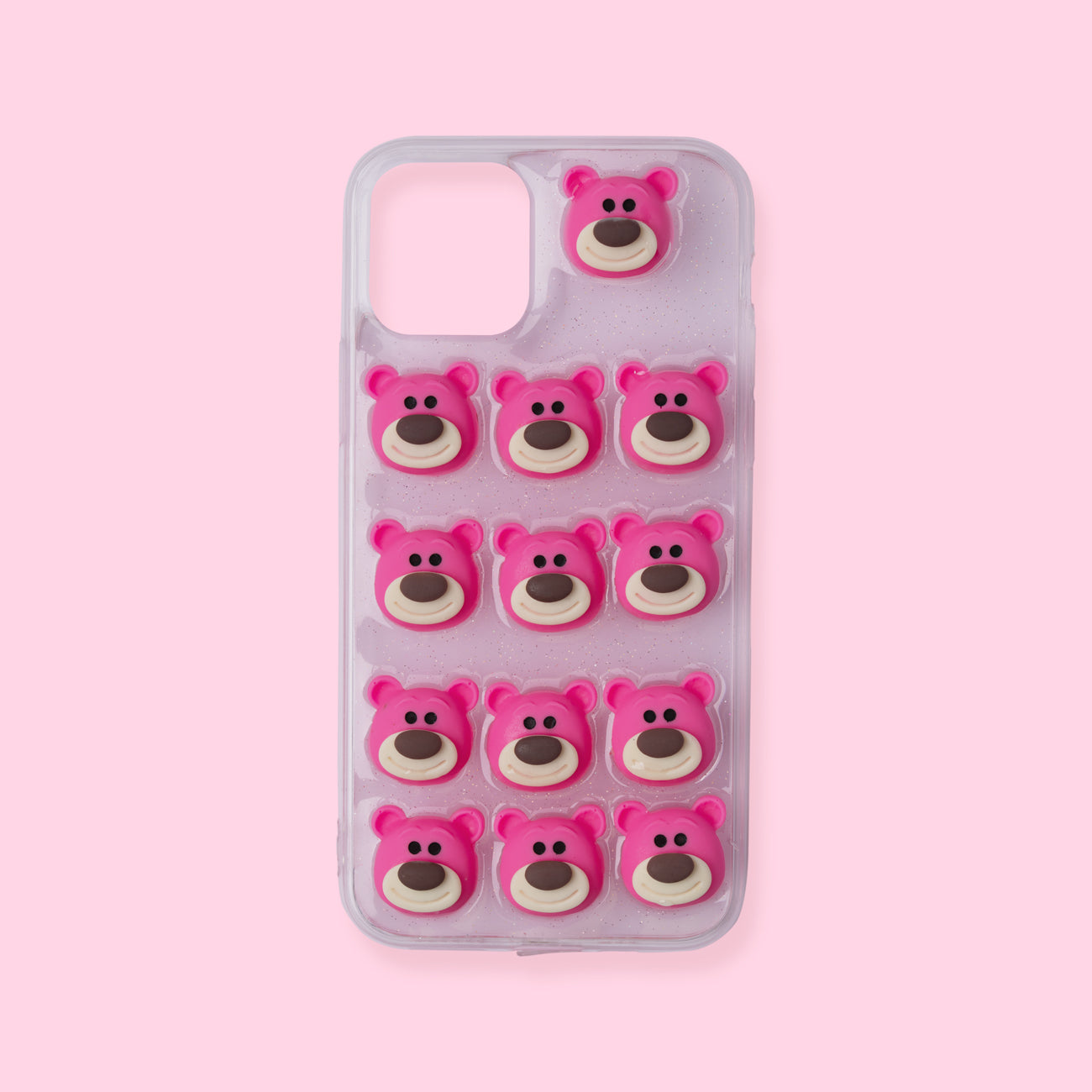 iPhone 11 Pro Case - 3D Bear - Pink