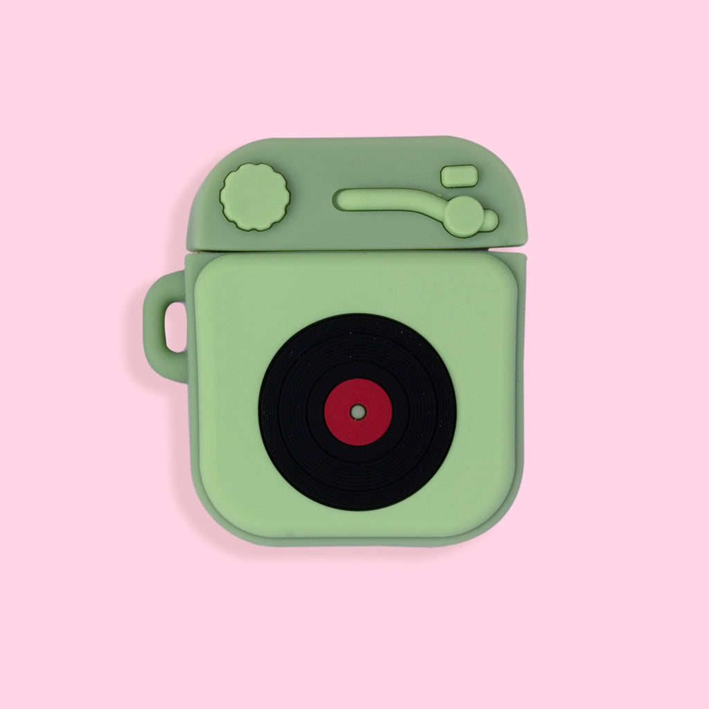 AirPods Case - Phonograph - Light Green