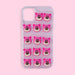 iPhone 12/12 Pro Case - 3D Bear - Pink