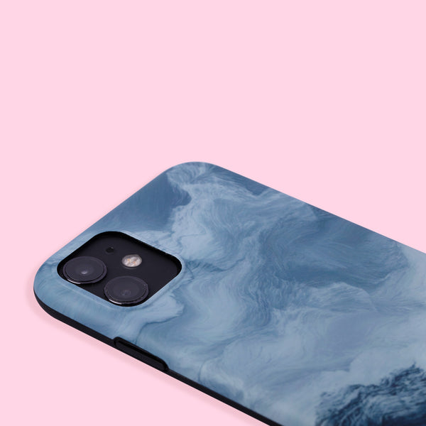 iPhone 11 Case - Oil Painting - Blue