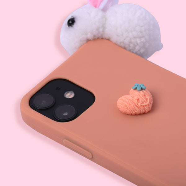 iPhone 12 mini Case - Rabbit - Orange