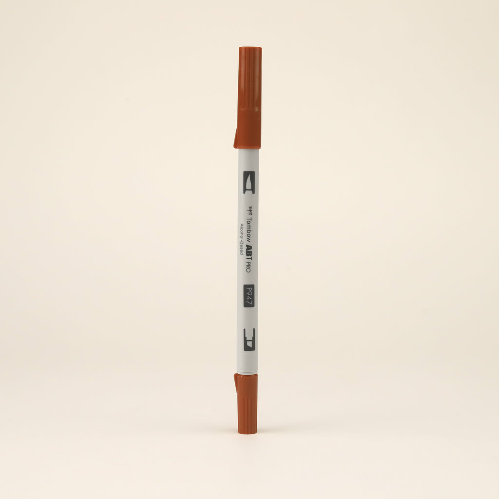 Tombow ABT PRO Alcohol-Based Art Marker - Burnt Sienna - P947