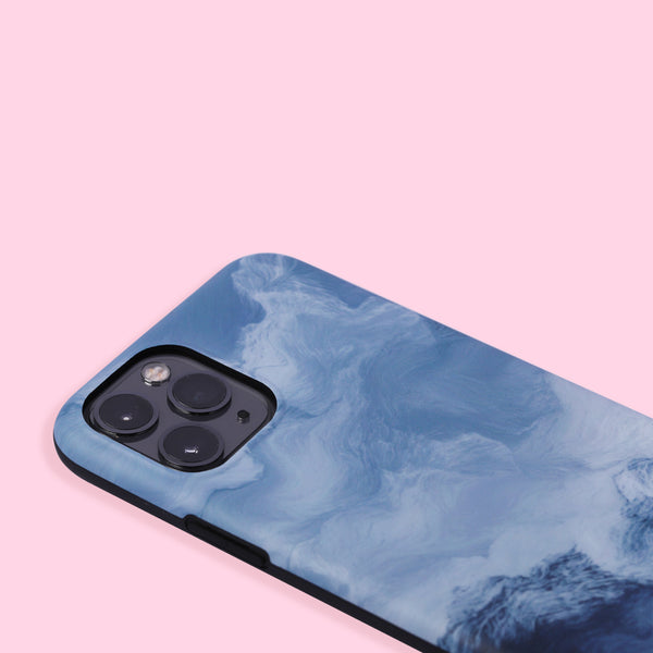 iPhone 11 Pro Case - Oil Painting - Blue