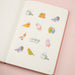 Kamio Watercolor Stickers - Birds