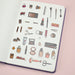 Stationery Pal Original Stickers - Cosmetics