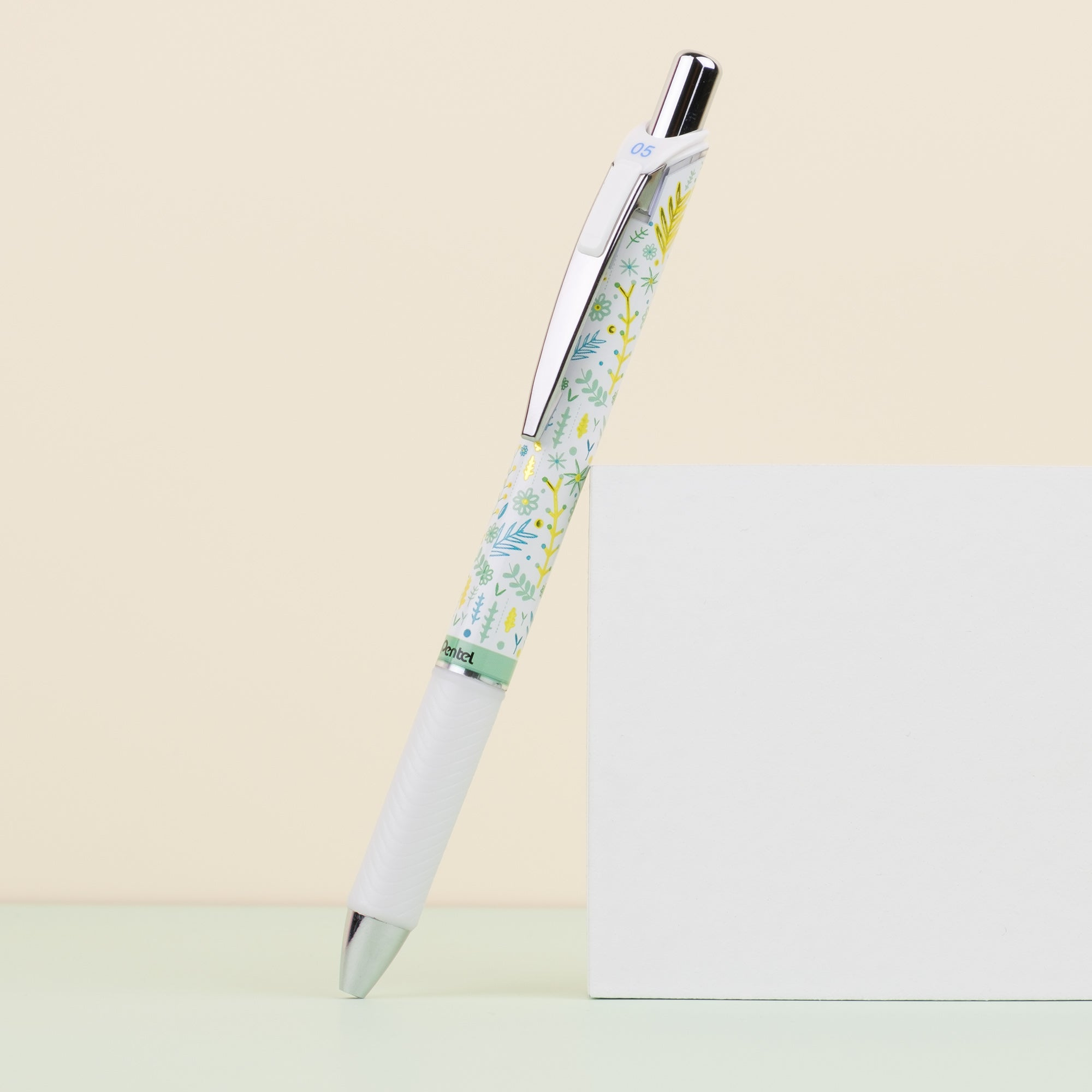 Pentel Energel Kawaii+ 4 Floral Limited Edition - 0.5 mm - Dainty Flowers
