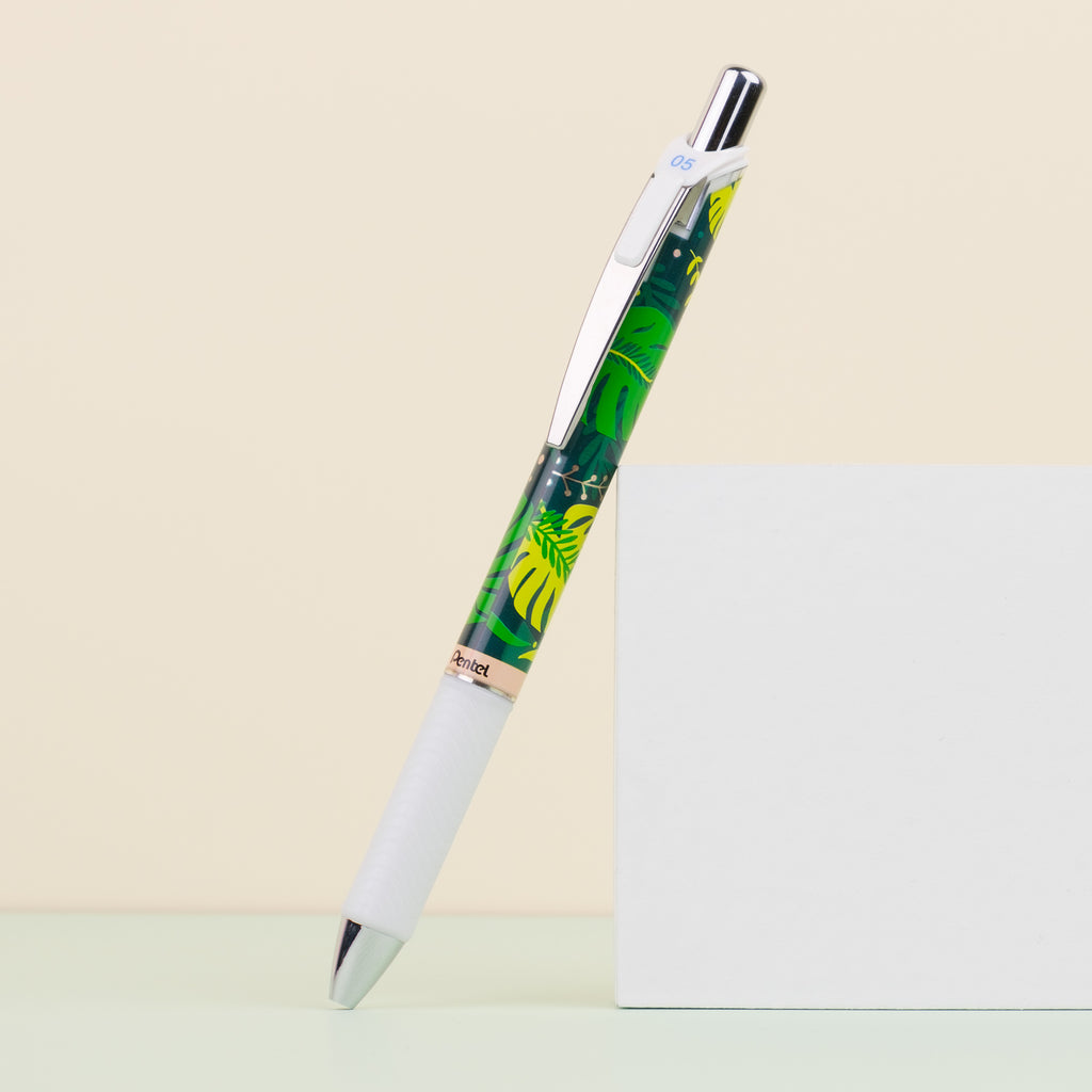 Pentel Energel Kawaii+ 4 Floral Limited Edition - 0.5 mm - Tropical Paradise