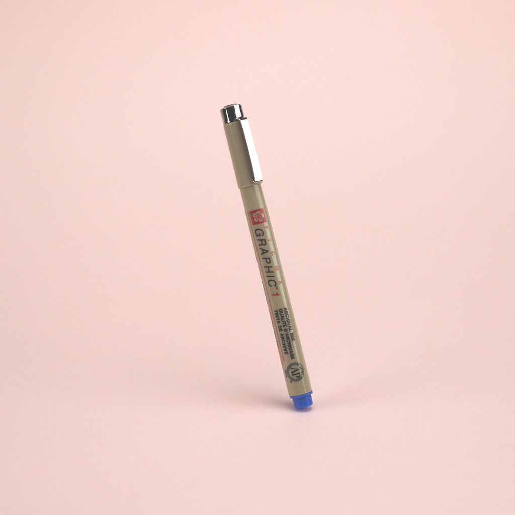 Sakura Pigma Graphic Pen - Size 1 - 1.0 mm - Blue