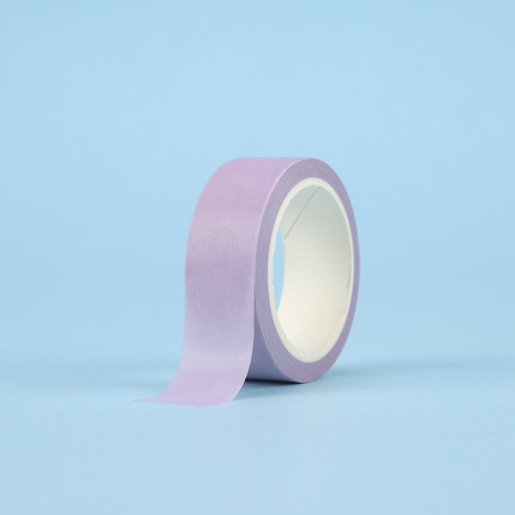 Solid Color Washi Tape - Lilac