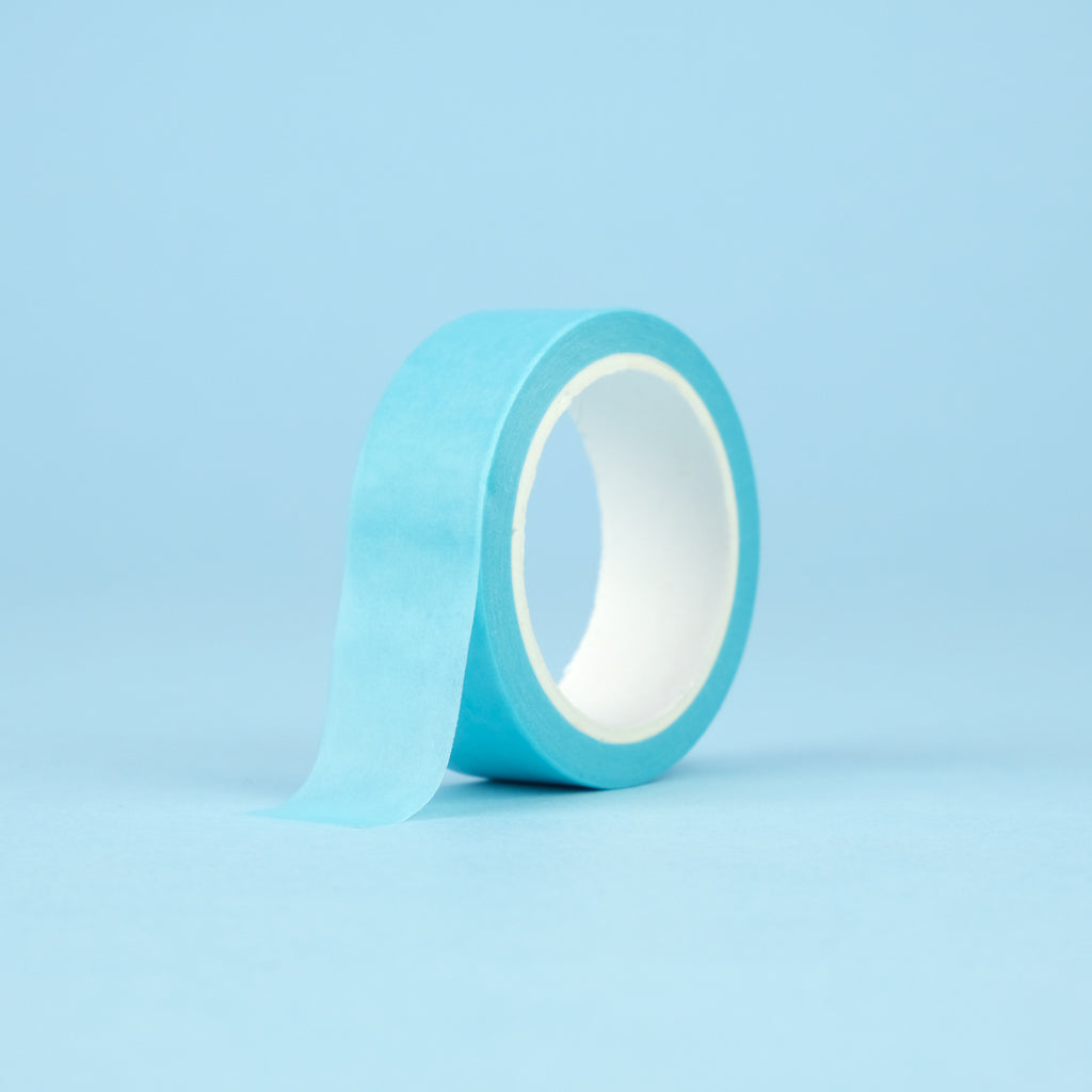 Solid Color Washi Tape - Sky Blue