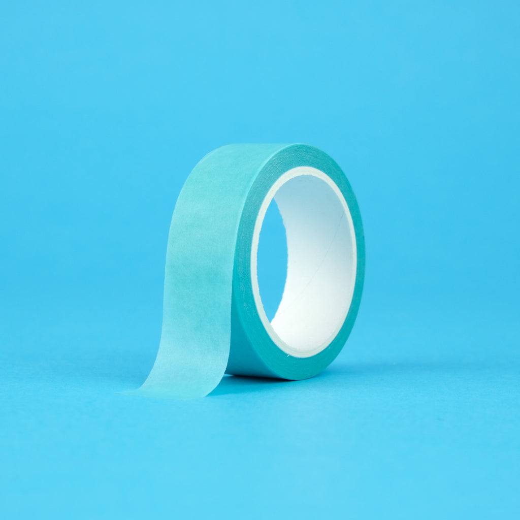 Solid Color Washi Tape - Turquoise