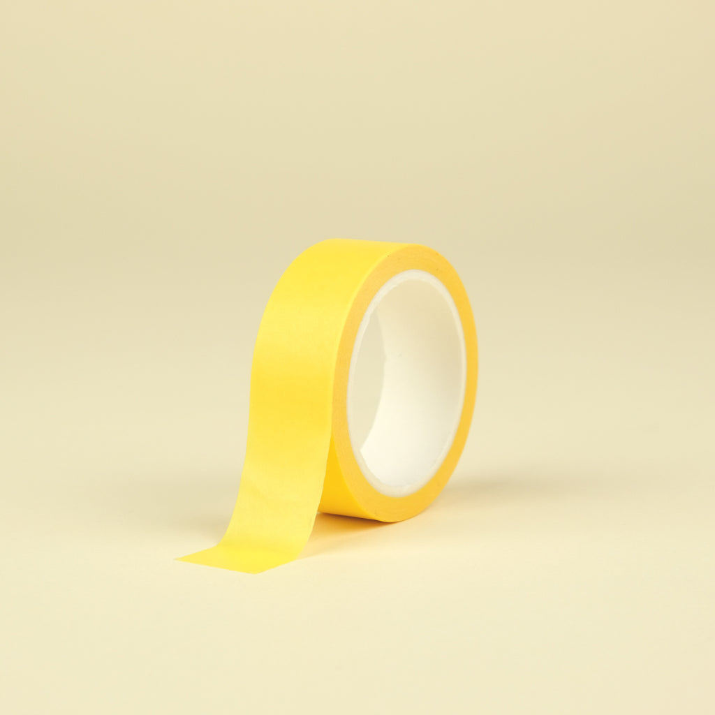 Solid Color Washi Tape - Yellow