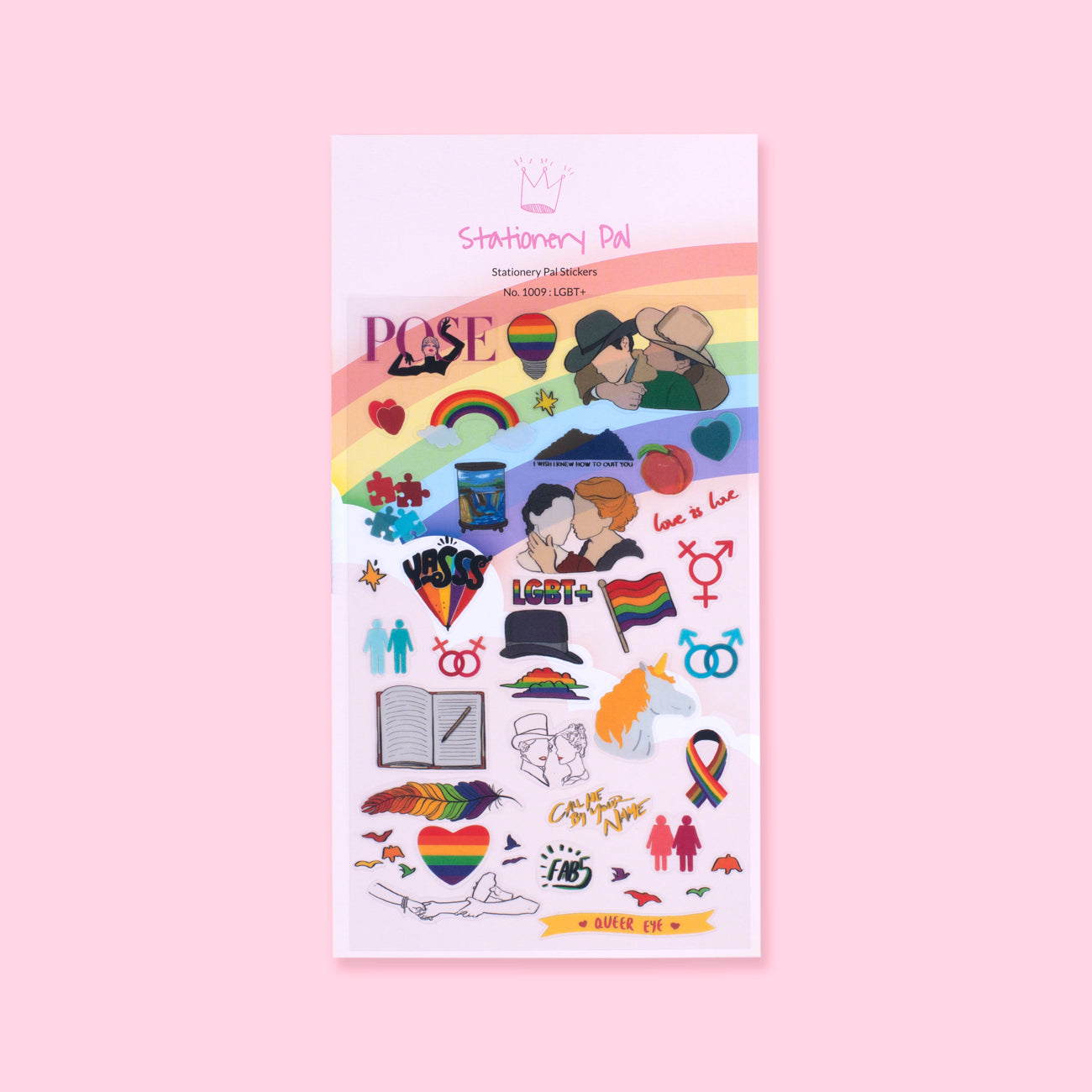 Stationery Pal Original Stickers - LGBT+