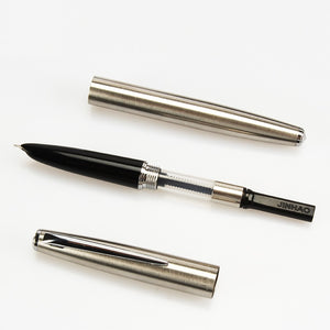 Classic Extremely Fine Stainless Steel Fountain Pen - Stationery Pal - Online Shop Study & Office Supplies Planner Addict Scrapbooking Bullet Journal Bujo Pens Notebooks