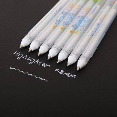 White Gel Pen - Stationery Pal - Online Shop Study & Office Supplies Planner Addict Scrapbooking Bullet Journal Bujo Pens Notebooks