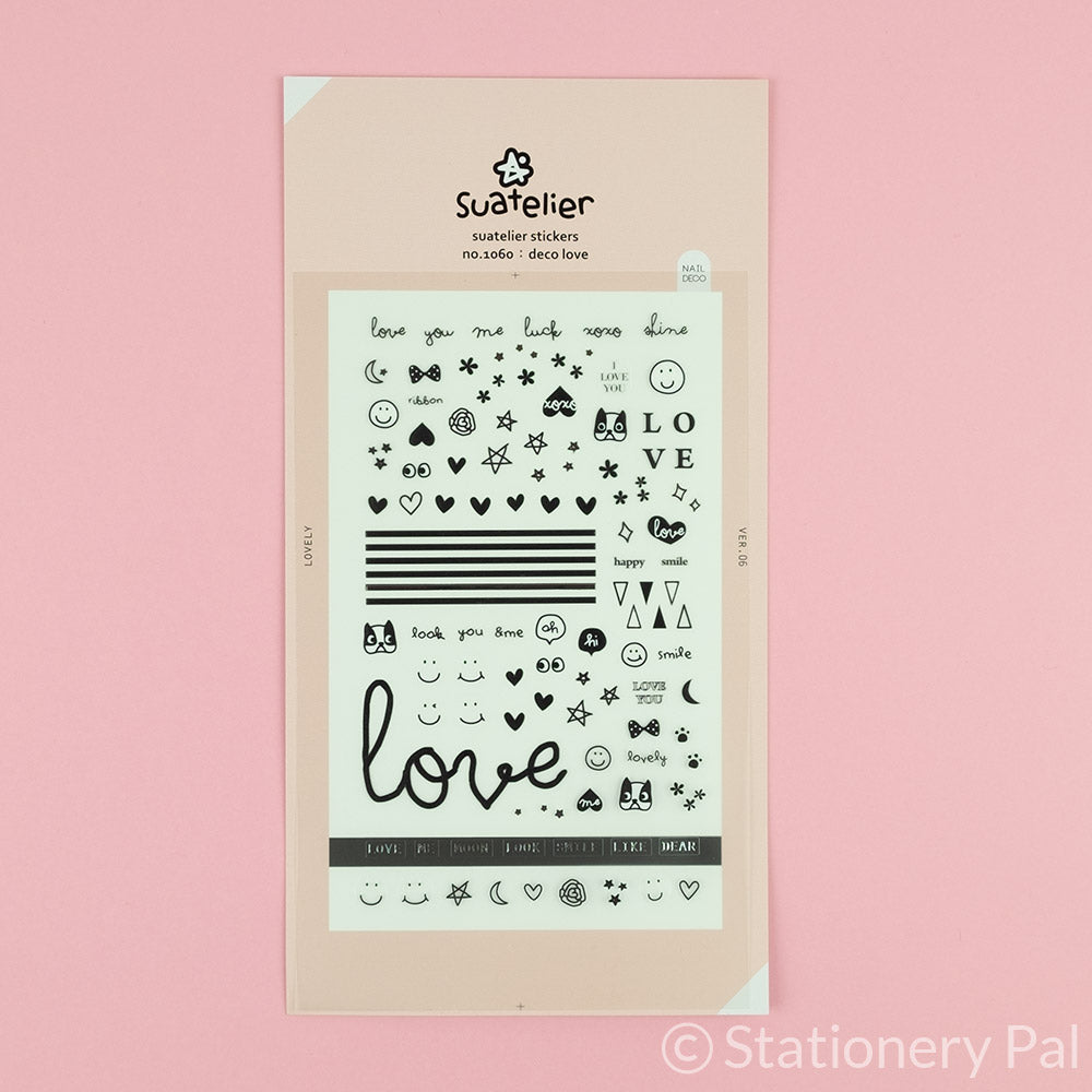 Suatelier Deco Love Stickers
