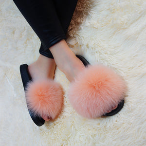 Fur Slippers - Other Colors