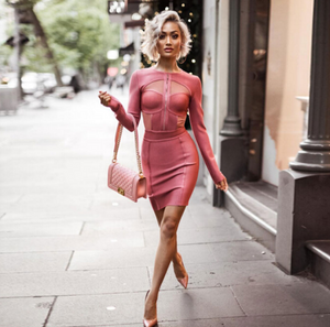 Pink Downtown Dress