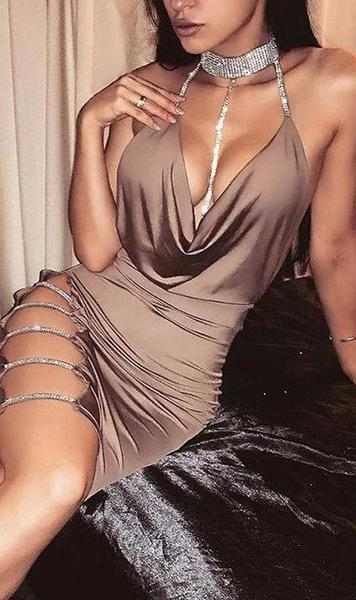 Bae Dress - Nude