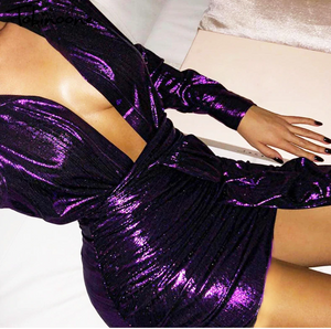 Lana Dress Purple