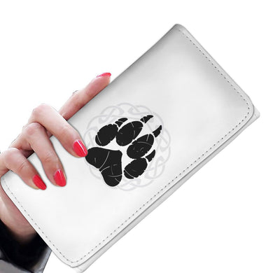 Norse Wolf Paw Wallet Purse Womens Wallet