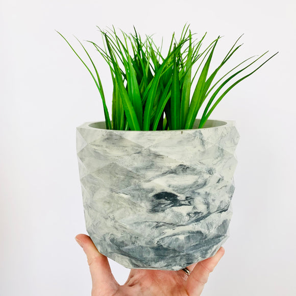 The Archie Planter - Marbled