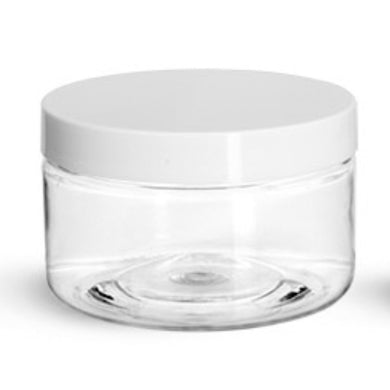 Plastic Jars - 4 oz - $0.86 Unit