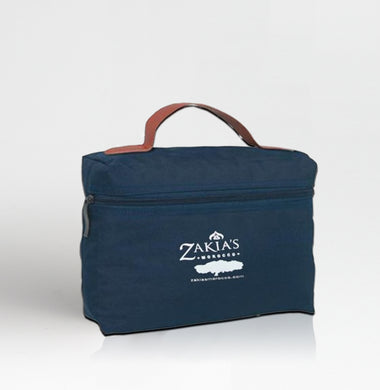 Tot_Blu | Signature Toiletry Bag - Blue