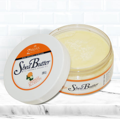BUT-105 | Argan Shea Body Butter - Fleur d'Oranger - 8 oz