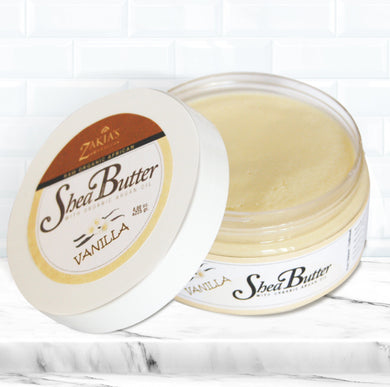 BUT-106 | Argan Shea Body Butter - Vanilla - 8 oz