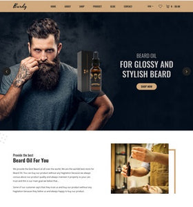 Beards Care Shopify Store