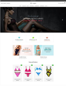 Fashion Lingerie Shopify Store