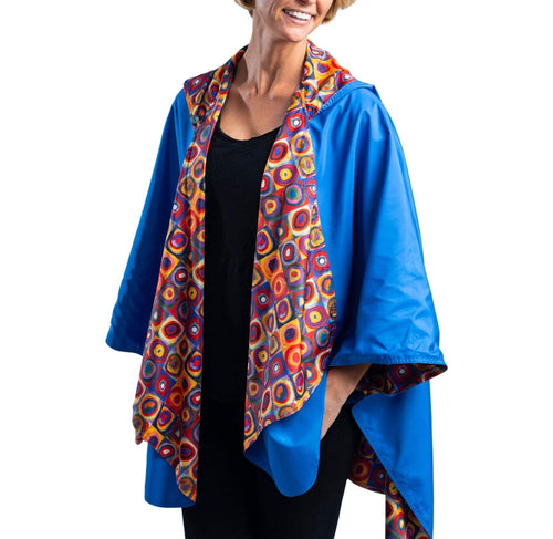 Kandinsky Circles Travel Cape